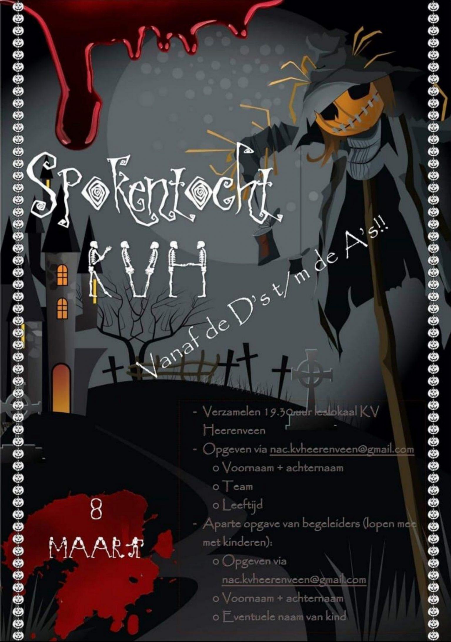 Spokentocht - KV Heerenveen